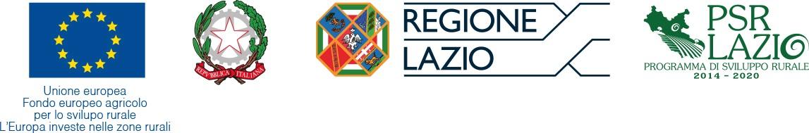 Progetto finanziato della Regione Lazio con il contributo del P.S.R. Lazio 2014-2020 Misura 3.2